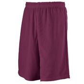 Youth Longer Length Mini Mesh League Short