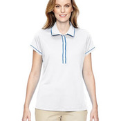 Ladies' Piped Fashion Polo