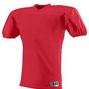 Youth Polyester Diamond Mesh V-Neck Jersey with Dazzle Inserts