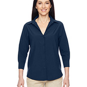 Ladies' Paradise Three-Quarter Sleeve Performance Shirt