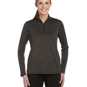 for Team 365 Ladies' Quarter-Zip Lightweight Pullover