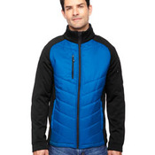 Men's Epic Insulated Hybrid Bonded Fleece Jacket